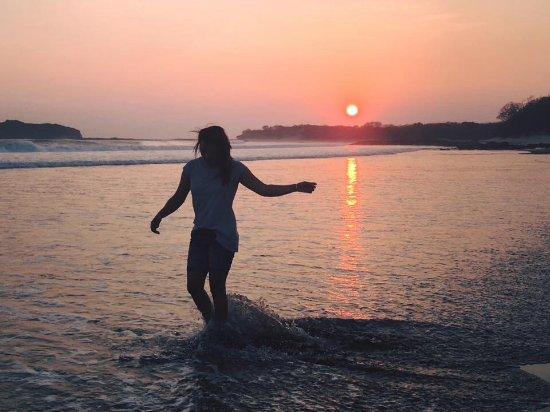 Tola, Nicaragua: Mi momento favorito the sunset 🌅!