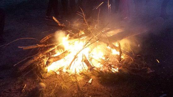 La Puebla del Río, España: A la luz de una Candela en los pinares de Puebla