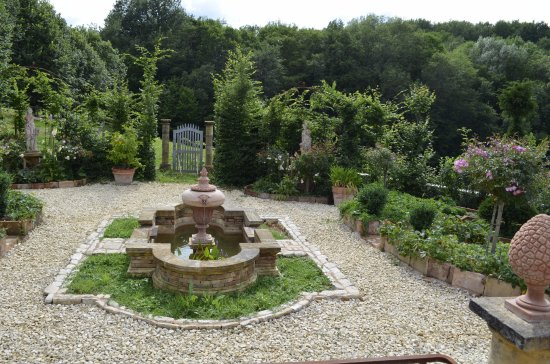 Paunat, France: Potager