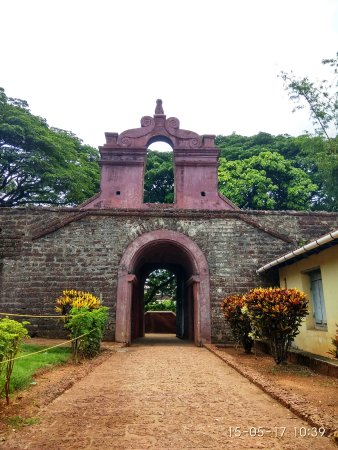 Thalassery fort, Kerala - Entrance