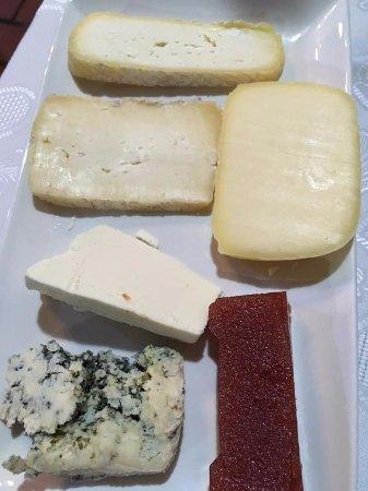 Casa Poli: tabla de quesos