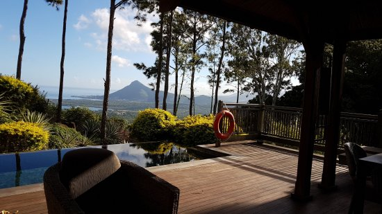 Lakaz Chamarel Exclusive Lodge: View from our suite..