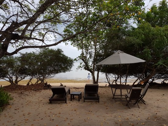 Taman Nasional Bali Barat, Indonesia: View from our beach villa