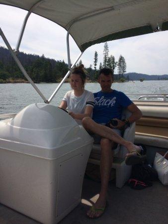 Bass Lake Water Sports Boat Rentals: Driving