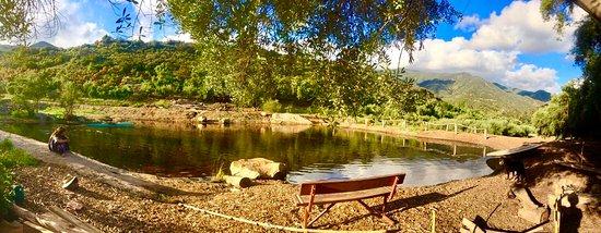 Ojai, CA: pond