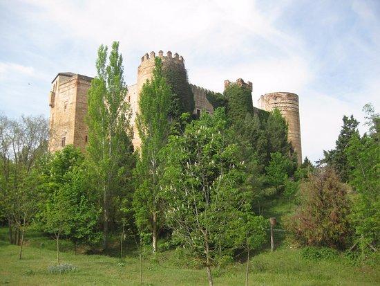 Province of Segovia, İspanya: Random castle along the way