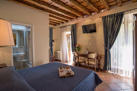 Relais Le Clarisse in Trastevere: Superior Double with Garden View