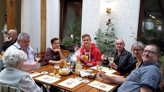 Grafing, Germany: Birthday party