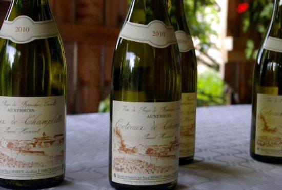Bouteilles de vin de Champlitte du domaine Pascal Henriot