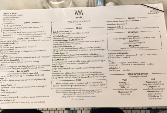White Maple Cafe Picture