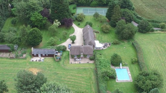Mayfield Bed & Breakfast: Aerial shot of Mayfield and the grounds