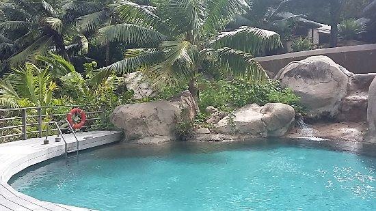 Ансе Керлан, Сейшельские острова: La Piscine
