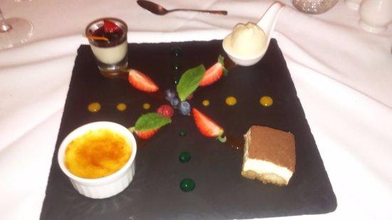 Kinlough, Irlandia: Dessert