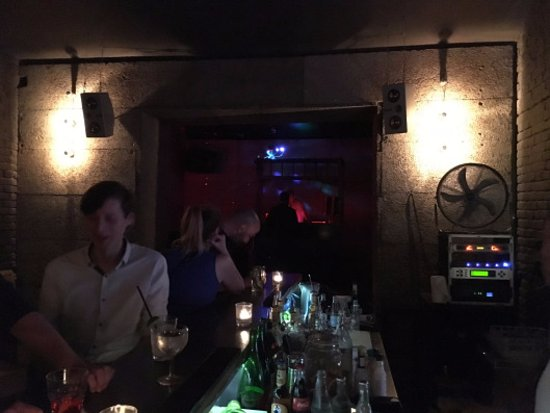 Prague, Czech Republic: Inside the bar