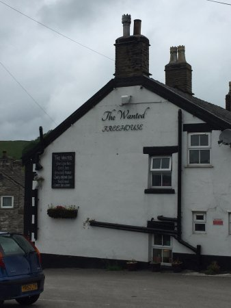 The Wanted Inn: Don't believe the sign about 'Quality Homemade Food'