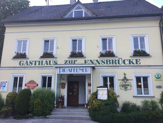 Gasthaus zur Ennsbrücke in Admont/Hall - sehr zu empfehlen!