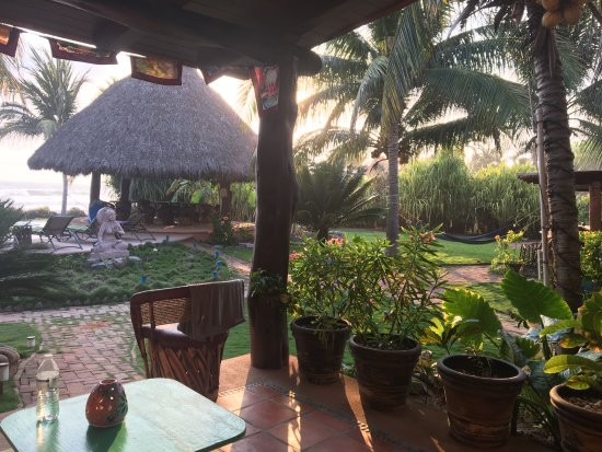 Tres Mujeres Boutique Hotel & Yoga Retreat: Terrasse of our room