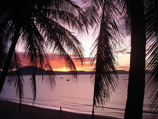 Paradise Resort Doc Let: Рассвет, вид из номера
