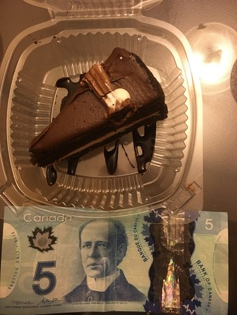 Coffee Matters: pretty small piece of $5 cake