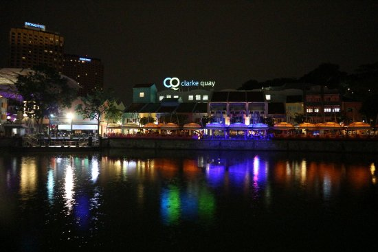 5footway.inn Project Boat Quay: Clarke Quay River at Night