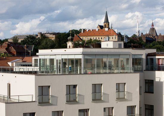 All top floor rooms with terraces picture of park inn for Best hotel location in prague