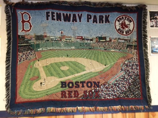 Boston's Deli & Pizza : Fenway wall hanging