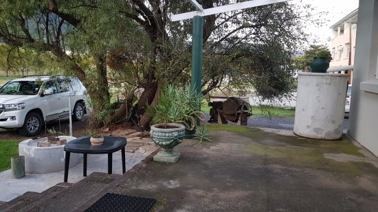 Somerset East, South Africa: Braai facilities