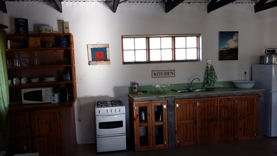 Bethulie, South Africa: Kitchen area