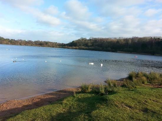 Congleton, UK: Astbury Mere