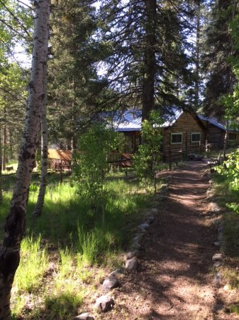 Tererro, NM: Trail to Main Lodge