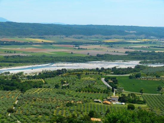Lurs, Frankrike: Vue de la terrasse