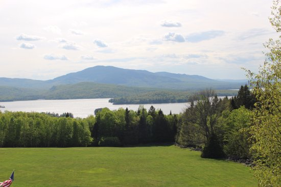 Lodge at Moosehead Lake: View from our room