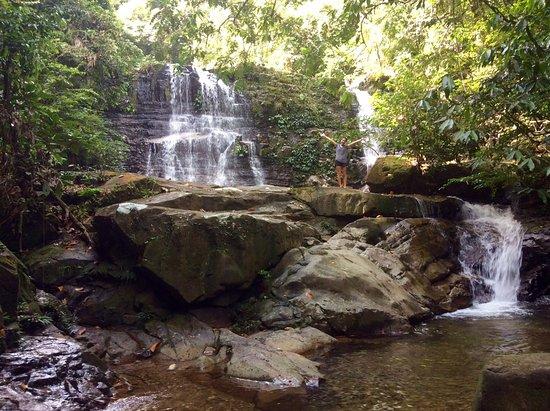 Kubah National Park: The waterfalls