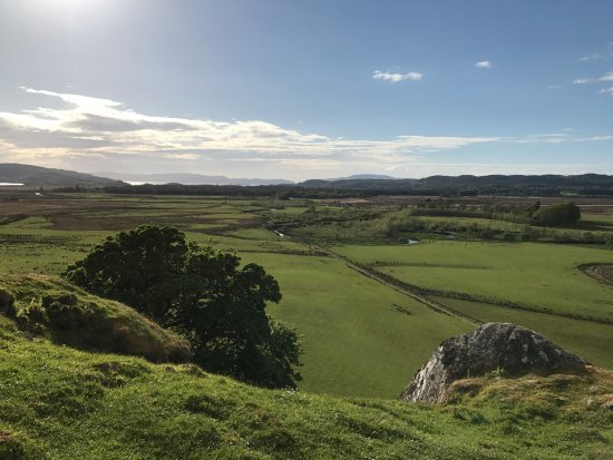 Kilmartin, UK: View from Dunadd Fort