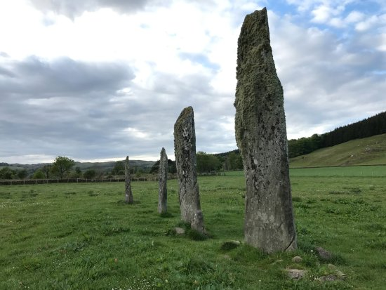 Kilmartin, UK: Ballymeanoch standing stones