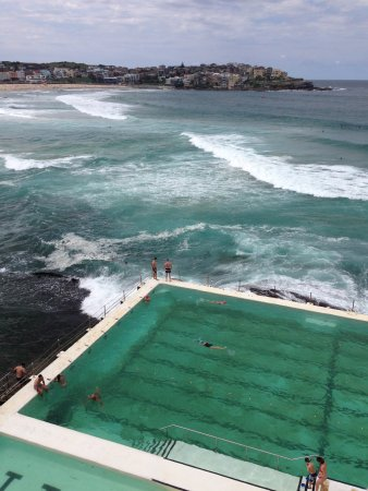 Icebergs Dining Room Bar View Of Bondi Beach From