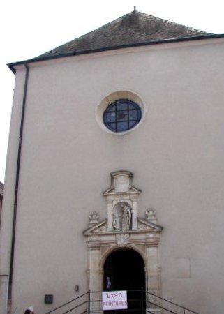 Fronton de la Chapelle des Carmélites de Gray