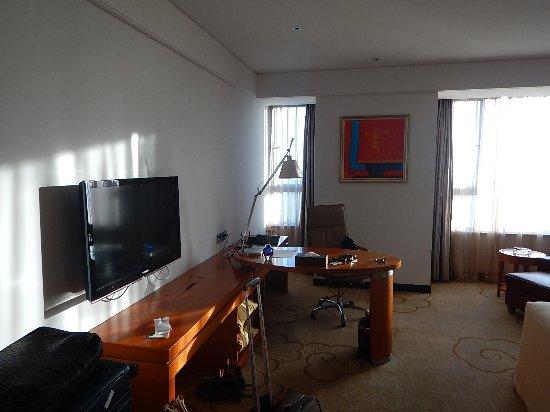 Danzhou, China: Bureau met aflegruimte