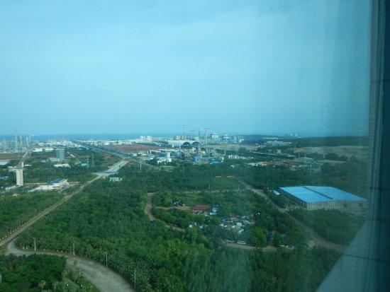 Danzhou, China: Petrochemisch complex