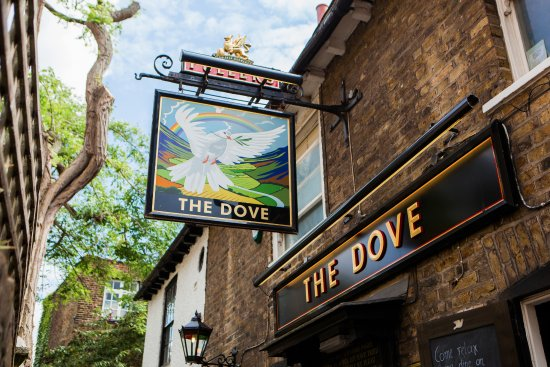 The Dove at Hammersmith : The Dove - a charming, much-loved pub with incredible history