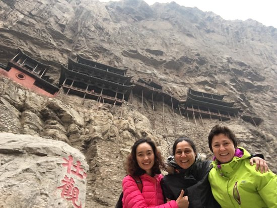 Datong, China: Nancy with us!