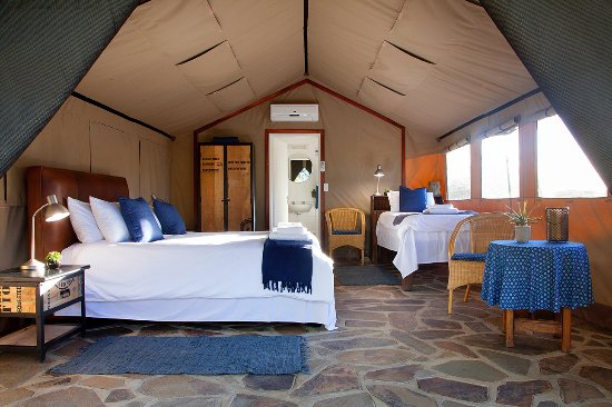 Omatozu Safari C& En-suite walk-in tent - family unit - sleeps & En-suite walk-in tent - family unit - sleeps 3 - Picture of ...