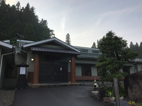 Annaka, Japan: 施設外観。施設名も上に出ているが、全く目立たない。
