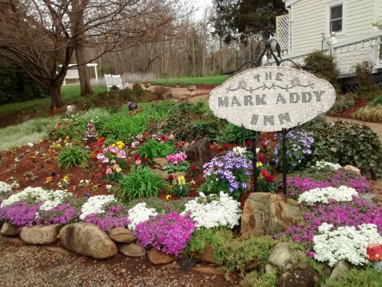 Nellysford, VA: Beautiful spring garden