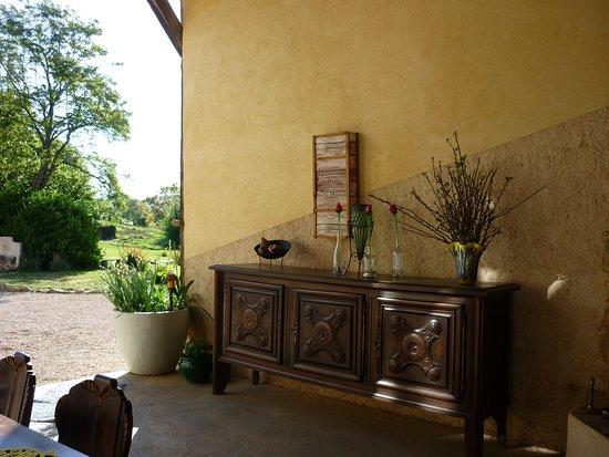 Überdachte Terrasse,terrasse couverte, covert terrasse - Bild von ...