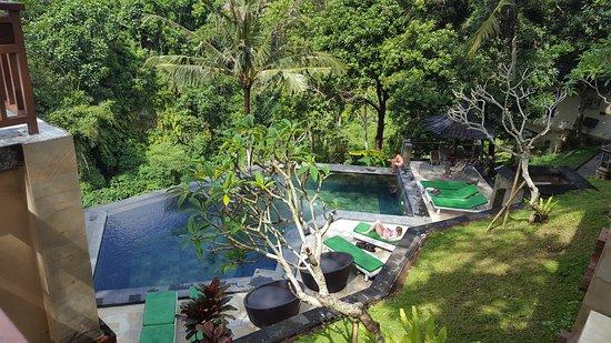 Beji Ubud Resort: une des piscines