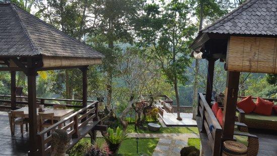 Beji Ubud Resort: vue du restaurant ...wouaaaa