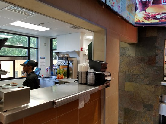 Dairy Queen Chill and Grill: Dairy Queen, located inside the KaKa convenience store in Jekyll Island, Georgia.