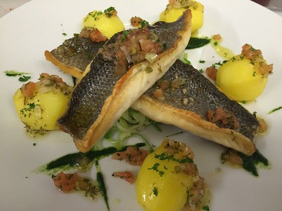 Skenfrith, UK: Fish Dish