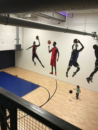 Mini Basketball Court Picture Of Kimpton Cardinal Hotel Winston Salem Tripadvisor